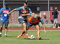Napoli Calcio ritiro precampionato a Dimaro ( TN)  18 Luglio 2014<br /> nella foto   Marek Hamsik <br /> Napoli soccer pre season summer training in Dimaro