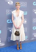 11 January 2018 - Santa Monica, California - Haley Bennett. 23rd Annual Critics' Choice Awards held at Barker Hangar. <br /> CAP/ADM/BT<br /> &copy;BT/ADM/Capital Pictures