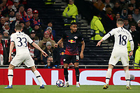 Timo Werner of RB Leipzig  and Ben Davies and Giovani Lo Celso of Tottenham Hotspur during Tottenham Hotspur vs RB Leipzig, UEFA Champions League Football at Tottenham Hotspur Stadium on 19th February 2020