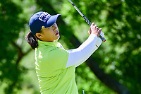 Amy Yang (KOR) watches her tee shot on 13 during round 1 of  the Volunteers of America Texas Shootout Presented by JTBC, at the Las Colinas Country Club in Irving, Texas, USA. 4/27/2017.<br /> Picture: Golffile | Ken Murray<br /> <br /> <br /> All photo usage must carry mandatory copyright credit (&copy; Golffile | Ken Murray)