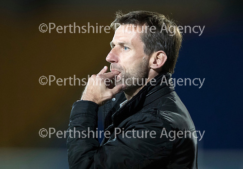 Dave Mackay Testimonial: St Johnstone v Dundee&hellip;06.10.17&hellip;  McDiarmid Park&hellip; <br />Dundee manager Neil McCann<br />Picture by Graeme Hart. <br />Copyright Perthshire Picture Agency<br />Tel: 01738 623350  Mobile: 07990 594431
