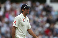 England's Alastair Cook <br /> <br /> Photographer Stephen White/CameraSport<br /> <br /> Investec Test Series 2017 - Second Test - England v South Africa - Day 3 - Sunday 16th July 2017 - Trent Bridge - Nottingham<br /> <br /> World Copyright &copy; 2017 CameraSport. All rights reserved. 43 Linden Ave. Countesthorpe. Leicester. England. LE8 5PG - Tel: +44 (0) 116 277 4147 - admin@camerasport.com - www.camerasport.com