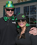Jeff and Cecilia during the Shamrock Shuffle 5k fun run in Sparks on Saturday, March 4, 2017.