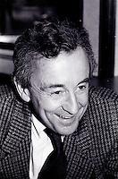 November 30 1987 File Photo - Montreal (Qc) Canada - Louis Malle press conference for AU REVOIR LES ENFANTS