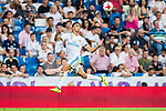 Achraf Hakimi of Real Madrid in action during the Santiago Bernabeu Trophy 2017 match between Real Madrid and ACF Fiorentina at the Santiago Bernabeu Stadium on 23 August 2017 in Madrid, Spain. Photo by Diego Gonzalez / Power Sport Images