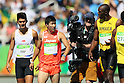 Yoshihide Kiryu (JPN), <br /> AUGUST 13, 2016 - Athletics : <br /> Men's 100m Round 1 <br /> at Olympic Stadium <br /> during the Rio 2016 Olympic Games in Rio de Janeiro, Brazil. <br /> (Photo by YUTAKA/AFLO SPORT)