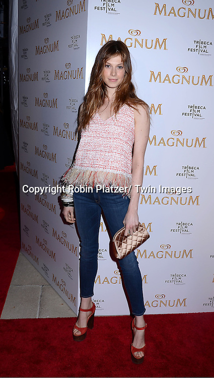 Elettra Wiedmann  attending The premiere of the Magnum Ice Cream Film Series during the Tribeca Film Festival on April 21, 2011 at The IAC Building in New York City.