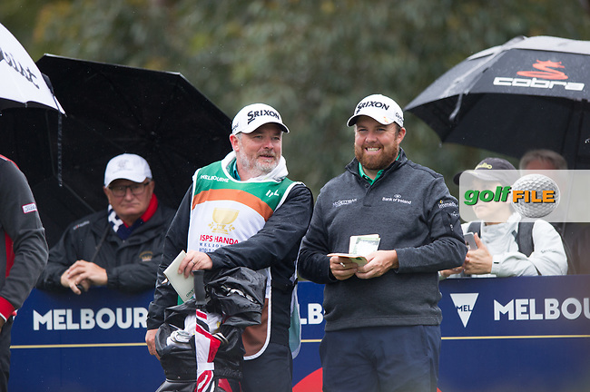 Shane Lowry (IRL) during the second day of the World cup of Golf, The Metropolitan Golf Club, The Metropolitan Golf Club, Victoria, Australia. 23/11/2018<br /> Picture: Golffile   Anthony Powter<br /> <br /> <br /> All photo usage must carry mandatory copyright credit (© Golffile   Anthony Powter)
