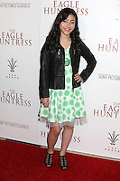 """LOS ANGELES, CA - OCTOBER 18: Kristen Li at the """"The Eagle Huntress"""" Premiere at the Pacific Theaters at the Grove, Los Angeles, California on October 18, 2016.  Credit: David Edwards/MediaPunch"""