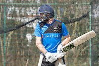 Picture by Allan McKenzie/SWpix.com - 05/04/2018 - Cricket - Yorkshire County Cricket Club Training - Headingley Cricket Ground, Leeds, England - Adam Lyth bats in the nets.