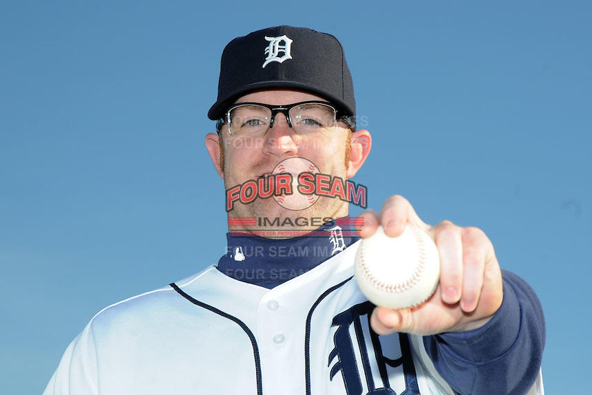 Feb 21, 2009; Lakeland, FL, USA; The Detroit Tigers pitcher Nate Robertson (29) during photoday at Tigertown. Mandatory Credit: Tomasso De Rosa/ Four Seam Images