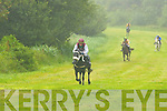 Maniac crosses the line to win the first race in Caherciveen on Sunday   Copyright Kerry's Eye 2008