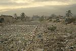 World Water Day. Little river through Cite Soleil, a neighborhood of Port au Prince, Haiti