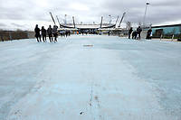 A general view of The Etihad, home of Manchester City<br /> <br /> Photographer Rich Linley/CameraSport<br /> <br /> Emirates FA Cup Fourth Round - Manchester City v Burnley - Saturday 26th January 2019 - The Etihad - Manchester<br />  <br /> World Copyright © 2019 CameraSport. All rights reserved. 43 Linden Ave. Countesthorpe. Leicester. England. LE8 5PG - Tel: +44 (0) 116 277 4147 - admin@camerasport.com - www.camerasport.com