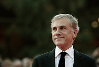L'attore austriaco Christoph Waltz posa sul red carpet della Festa del Cinema di Roma, 26 ottobre 2017.<br /> Austrian actor Christoph Waltz poses on the red carpet during the international Rome Film Festival at Rome's Auditorium, October 26, 2017.<br /> UPDATE IMAGES PRESS/Isabella Bonotto