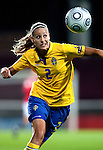 Charlotte Rohlin, QF, Sweden-Norway, Women's EURO 2009 in Finland, 09042009, Helsinki Football Stadium.