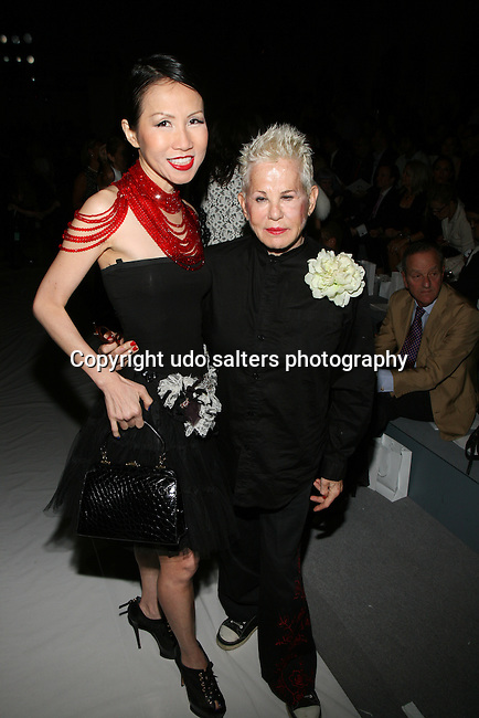 Guests Front Row at Zang Toi Spring 2014 Fashion Show Held During Mercedes Benz Fashion Week NY