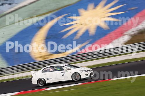 KUALA LUMPUR, MALAYSIA - May 29: Boy WONG Yew Choong of Malaysia (#21) Malaysia Championship Series Round 1 at Sepang International Circuit on May 29, 2016 in Kuala Lumpur, Malaysia. Photo by Peter Lim/PhotoDesk.com.my