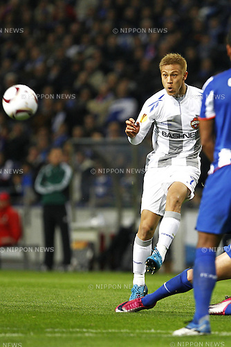 Keisuke Honda (CSKA Moscow), MARCH 17, 2011 - Football : UEFA Europa League Round of 16, 2nd leg match between Porto 2-1 CSKA Moscow at the Dragao Stadium on March 17, 2011 in Porto, Portugal. (Photo by AFLO) [3604].