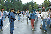 Croiwd outside the Venue before The Grateful Dead Concert at the Saratoga Performing Arts Center, 24 June 1984.