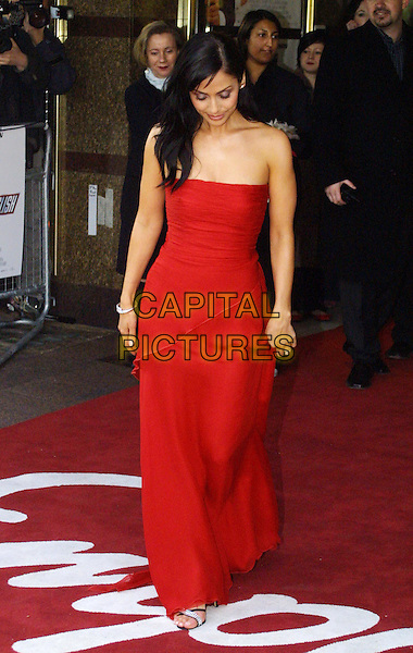 NATALIE IMBRUGLIA.Johnny English Film Premiere at Empire Leicester Square.www.capitalpictures.com.sales@capitalpictures.com.© Capital Pictures.strapless red dress.