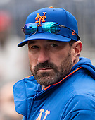 New York Mets manager Mickey Callaway (36) prior to the game against the Washington Nationals at Nationals Park in Washington, DC on Sunday, March 31, 2018. <br /> Credit: Ron Sachs / CNP<br /> (RESTRICTION: NO New York or New Jersey Newspapers or newspapers within a 75 mile radius of New York City)