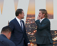 """LOS ANGELES - JUL 22:  Leonardo DiCaprio, Brad Pitt at the """"Once Upon a Time in Hollywood"""" Premiere at the TCL Chinese Theater IMAX on July 22, 2019 in Los Angeles, CA"""