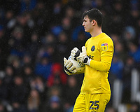 Max O'Leary of Shrewsbury Town during Portsmouth vs Shrewsbury Town, Sky Bet EFL League 1 Football at Fratton Park on 15th February 2020