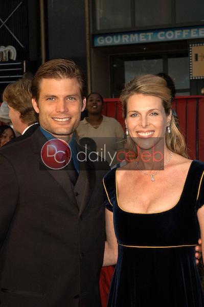 Casper Van Dien and Catherine Oxenberg