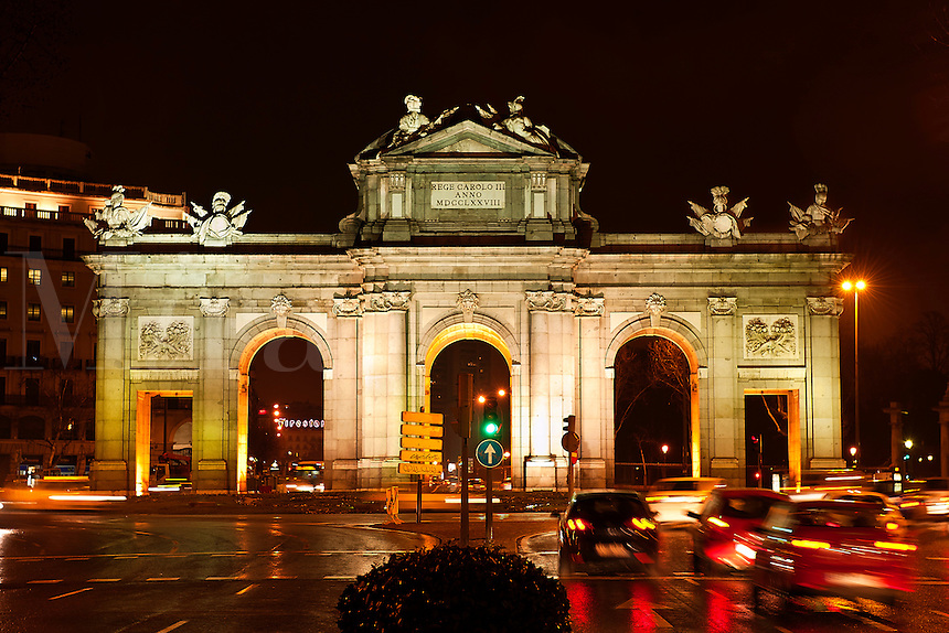 La Puerta De Alcala arch, Madrid, Spain
