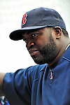 11 March 2010: Boston Red Sox designated hitter David Ortiz awaits his turn in the batting cage prior to a Spring Training game against the New York Mets at Tradition Field in Port St. Lucie, Florida. The Red Sox defeated the Mets 8-2 in Grapefruit League action. Mandatory Credit: Ed Wolfstein Photo