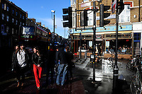 GREAT BRITAIN, London, Pub Casa Blue in Brick Lane Area / GROSSBRITANNIEN, London, Pub Casa Blue in Brick Lane Area