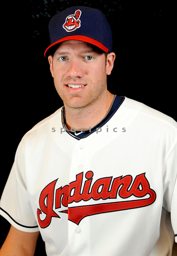 Cleveland Indians Zach McAllister (34) at media photo day on February 19, 2013 during spring training in Goodyear, AZ.