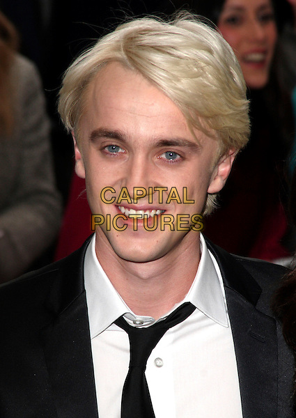 TOM FELTON .British Comedy Awards 2009 held at the ITV Studios, South Bank, London,.December 12th 2009..portrait headshot black tie .CAP/JIL.©Jill Mayhew/Capital Pictures