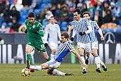 7th January 2018, Estadio Municipal de Butarque, Legales, Spain; La Liga football, Leganes versus Real Sociedad; Omar Ramos (Leganes FC) in action