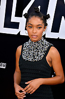 Yara Shahidi at the Los Angeles premiere of &quot;BlacKkKlansman&quot; at the Academy's Samuel Goldwyn Theatre, Beverly Hills, USA 08 Aug. 2018<br /> Picture: Paul Smith/Featureflash/SilverHub 0208 004 5359 sales@silverhubmedia.com