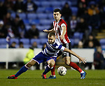 John Egan of Sheffield Utd in action during the FA Cup match at the Madejski Stadium, Reading. Picture date: 3rd March 2020. Picture credit should read: Simon Bellis/Sportimage