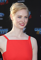 19 April 2017 - Hollywood, California - Deborah Ann Woll. Premiere Of Disney And Marvel's &quot;Guardians Of The Galaxy Vol. 2&quot; held at the Dolby Theatre. <br /> CAP/ADM<br /> &copy;ADM/Capital Pictures