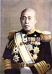 Undated - Isoroku Yamamoto, Japanese Naval Marshal General and the commander-in-chief of the Combined Fleet during World War II, masterminded a surprise attack on Pearl Harbor, commencing hostilities against the United States on December 7, 1941. Yamamoto died on April 18, 1943 when his plane was shot down by American P-38s near Bougainville in the Solomon Islands. Undated photo of Adm. Yamamoto in formal naval uniform. (Photo by Kingendai Photo Library/AFLO) JMQ