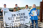 Portmagee stepping up to host the 26th Annual Portmagee Set Dancing Weekend pictured here l-r; Julian Stracey, Gabriel Butler, Helen Farmer & Ber Stracey.