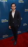 "Jason Ralph attending the Broadway Opening Night Performance of  ""What The Constitution Means To Me"" at the Hayes Theatre on March 31, 2019 in New York City."