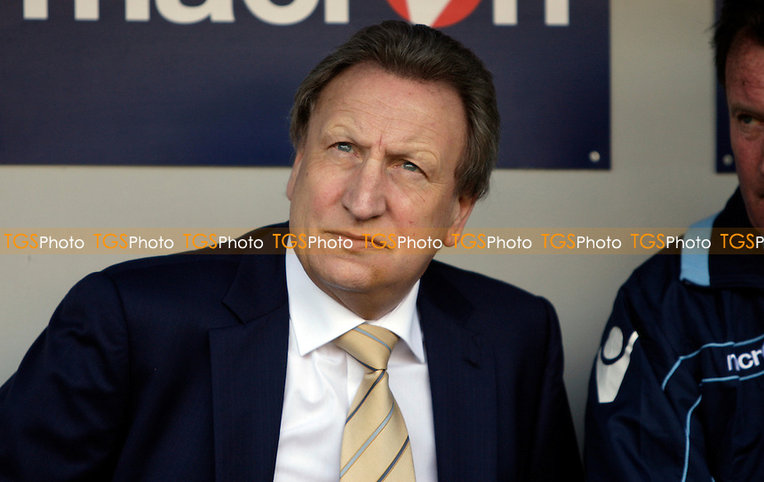 Neil Warnock manager of Leeds United - Millwall vs Leeds United - nPower Championship Football at the New Den, London - 24/03/12 - MANDATORY CREDIT: Helen Watson/TGSPHOTO - Self billing applies where appropriate - 0845 094 6026 - contact@tgsphoto.co.uk - NO UNPAID USE.