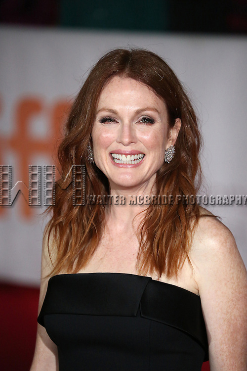 Julianne Moore attends the 'Freeheld' premiere during the 2015 Toronto International Film Festival at Roy Thomson Hall on September 13, 2015 in Toronto, Canada.
