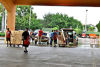 MIRAMAR, FL - OCTOBER 06: South Florida residents prepare for Hurricane Matthew by purchasing plywood at Home Depot on October 6, 2016 in Miramar, Florida. The hurricane is expected to make landfall sometime this evening or early in the morning as a possible category 4 storm.Credit: MPI10 / MediaPunch