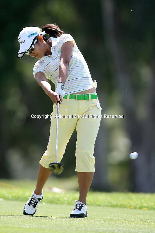 04/03/09 Rancho Mirage, CA: Ali Miyazato during the 2nd round of the Kraft Nabisco Championship held at Mission Hills Country Club.