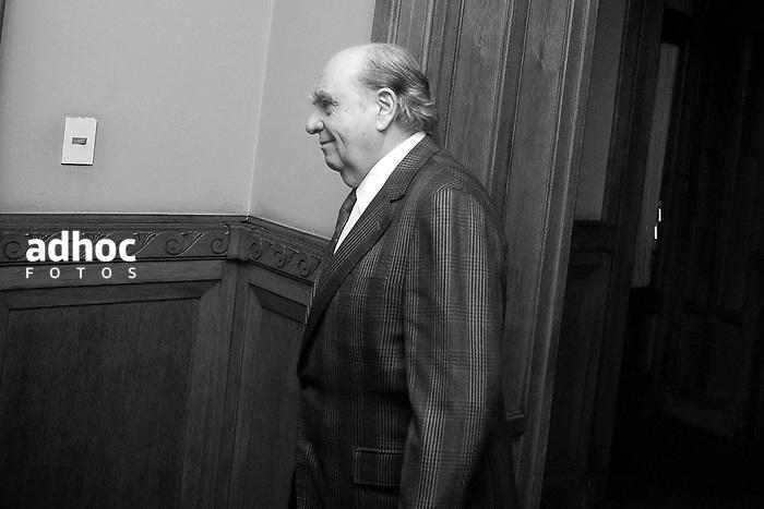 Julio Maria Sanguinetti. Palacio Legislativo, Montevideo, 2007.<br /> URUGUAY / MONTEVIDEO / <br /> Foto: Ricardo Ant&uacute;nez / AdhocFotos<br /> www.adhocfotos.com