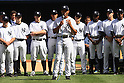 Mariano Rivera (Yankees),<br /> SEPTEMBER 22, 2013 - MLB :<br /> Mariano Rivera of the New York Yankees speaks to fans during his retirement ceremony before the Major League Baseball game against the San Francisco Giants at Yankee Stadium in The Bronx, New York, United States. (Photo by Thomas Anderson/AFLO) (JAPANESE NEWSPAPER OUT)