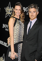 WWW.BLUESTAR-IMAGES.COM Actors Odette Annaable (L) and Dave Annable arrive at the Hollywood Domino's 7th Annual Pre-Oscar Charity Gala at Sunset Tower on February 27, 2014 in West Hollywood, California.<br /> Photo: BlueStar Images/OIC jbm1005  +44 (0)208 445 8588