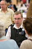 Police talk to local residents at Westbourne Neighbourhood Autumn Get Together at the Stowe Centre
