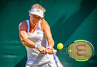 London, England, 2 th July, 2018, Tennis,  Wimbledon,  Kiki Bertens (NED)<br /> Photo: Henk Koster/tennisimages.com